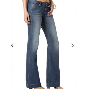 Miss Me Jeans Mid Rise Trouser Denim